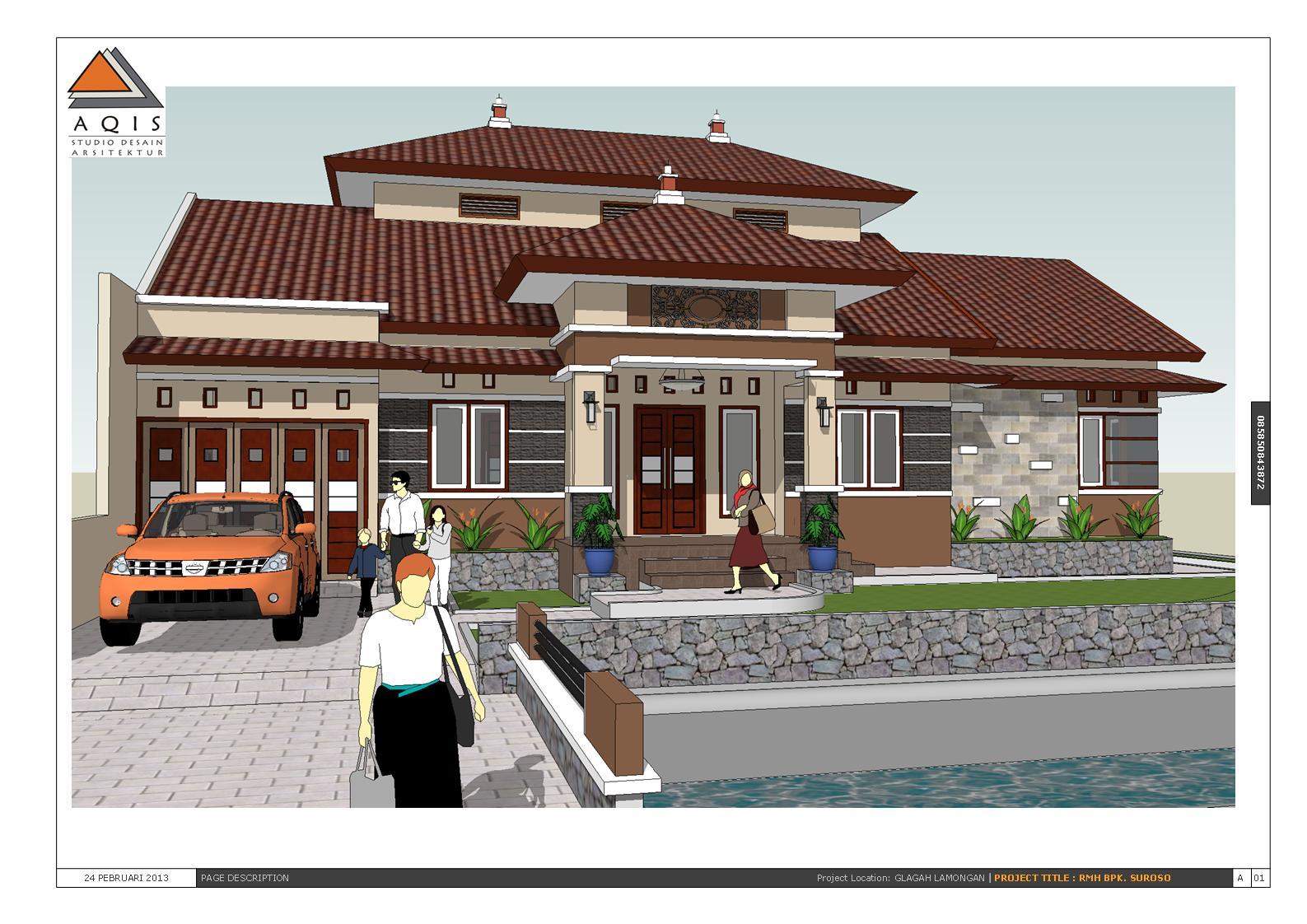 rumah yang dibangun di desa apakah harus dipaksa memakai desain rumah
