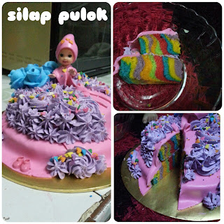 barbie doll cake cup cake