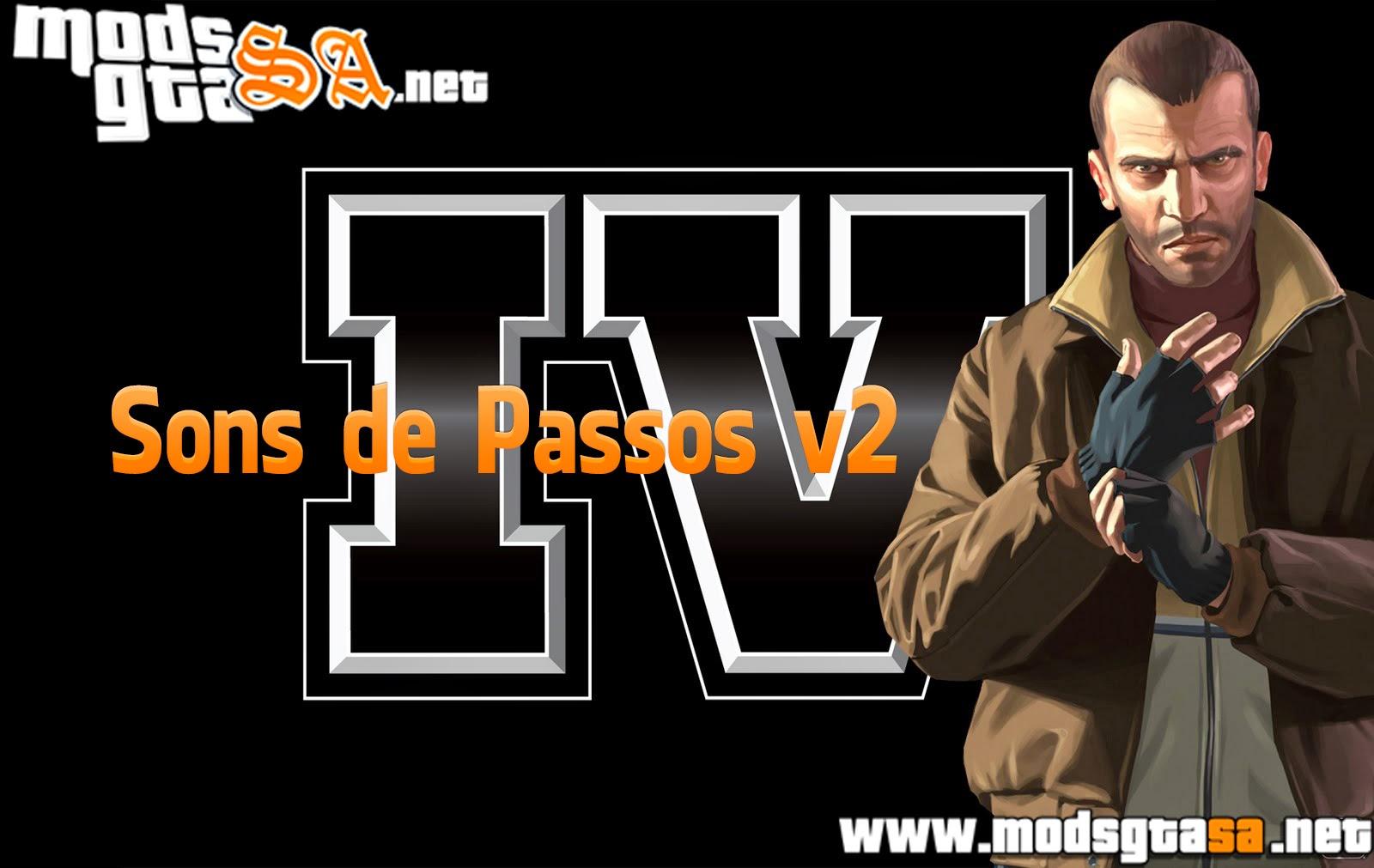 SA - Sons de Passos do GTA IV V2