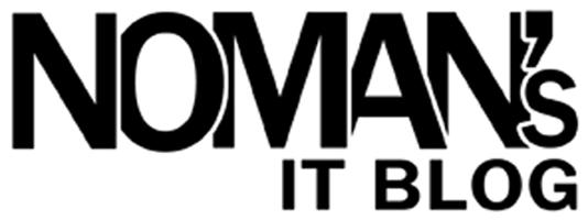Noman's I.T Blog