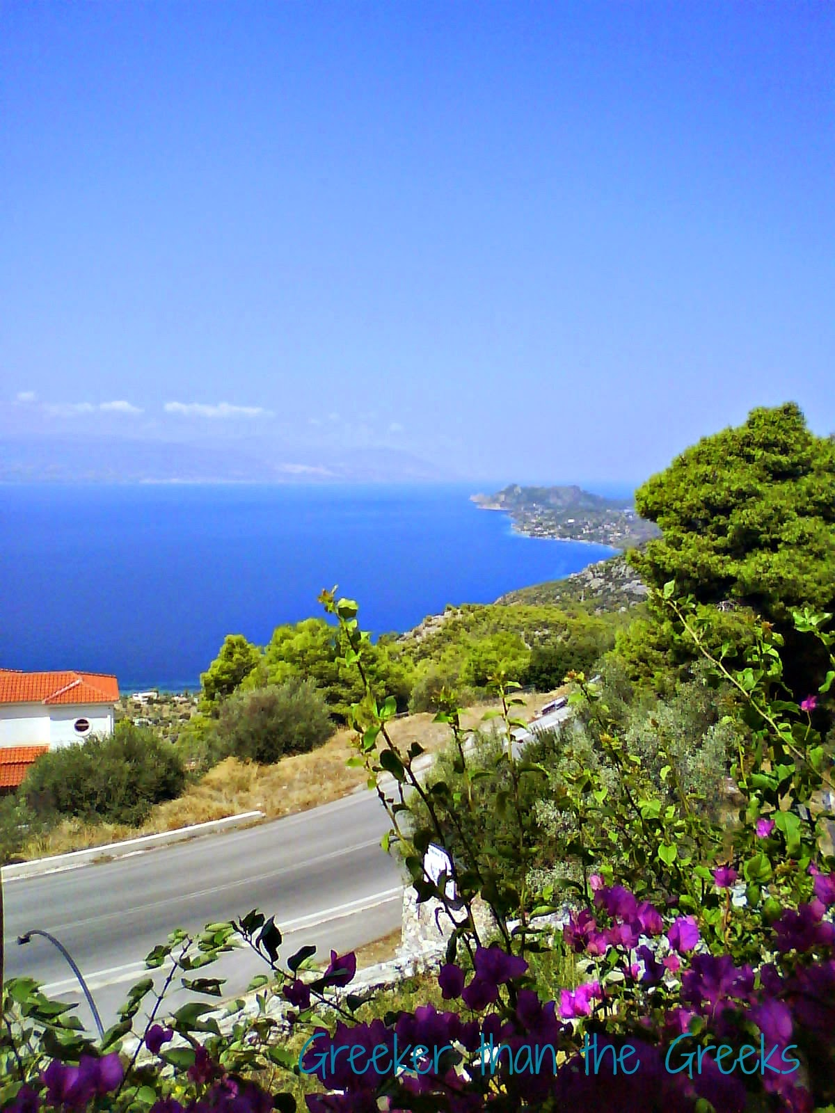Just one of the magnificent views of Greece