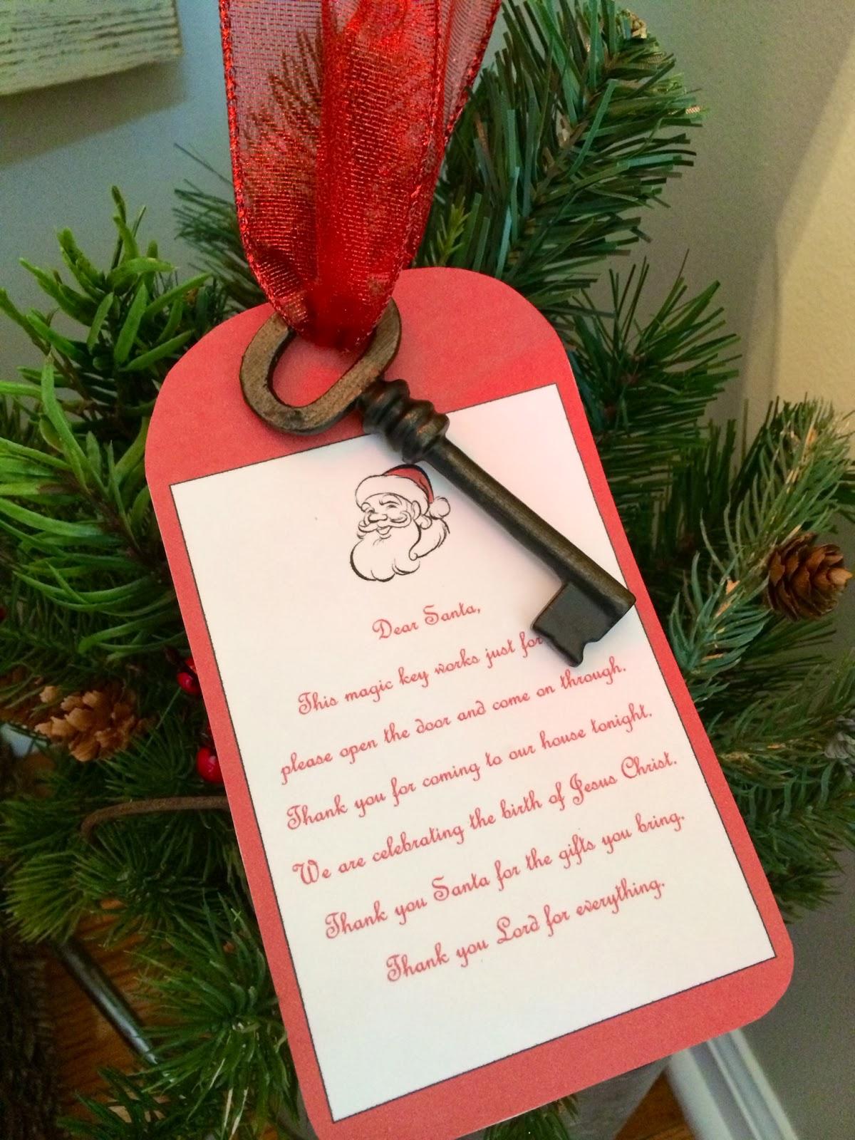 eleanor olander this is me santa u0027s key poem u0026 free printable