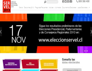 ... de Consejeros Regionales CHILE 2013 consulta 17 de Noviembre