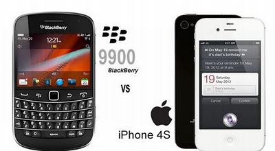 Pebisnis Lebih Pilih iPhone Ketimbang BlackBerry