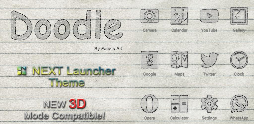 http://faisca-art.blogspot.com.es/2014/01/doodle-premium-3d-naxt-launcher-theme.html