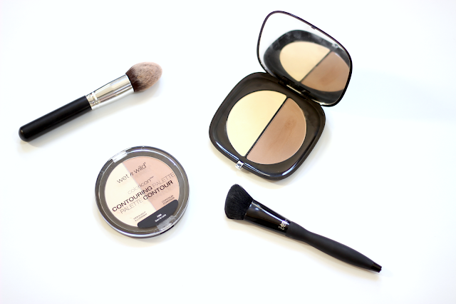 Marc Jacobs #Instamarc Light Filtering Contour Powder vs. Wet n Wild Color Icon Contouring Palette