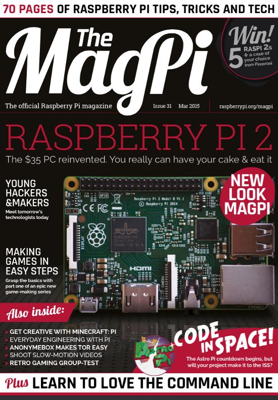 The MagPi 31ª edição