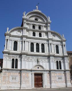 Iglesia de San Zaccaria - Venecia. Iglesias con obras de Tintoretto. Bellini