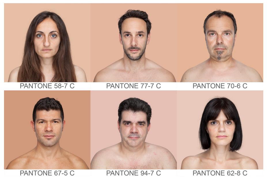 Как сделать один цвет кожи на фотографии