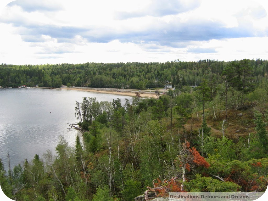 West Hawk Lake in Whiteshell Provincial Park