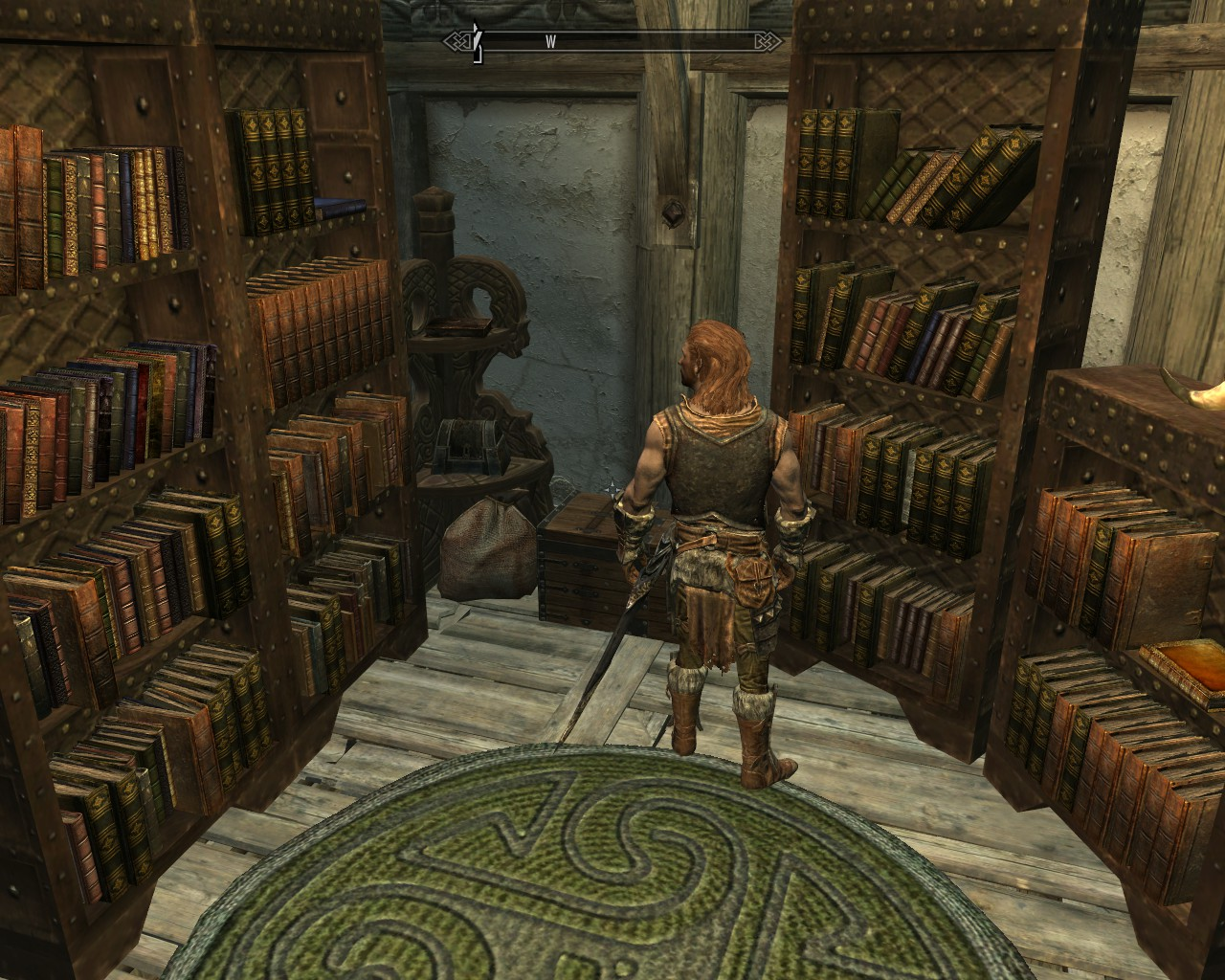 skyrim how to change house wing