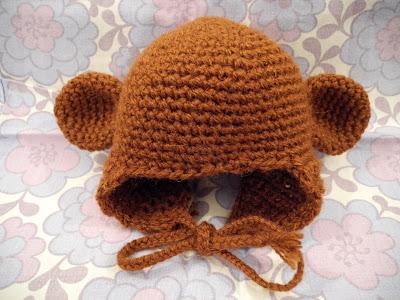 Hæklet bjørnehue - DIY