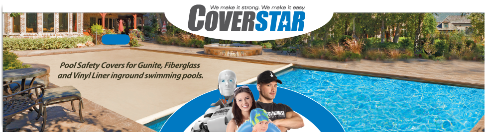 COVERSTAR - Safety Swimming Pool Covers for Automatic and Solid & Mesh