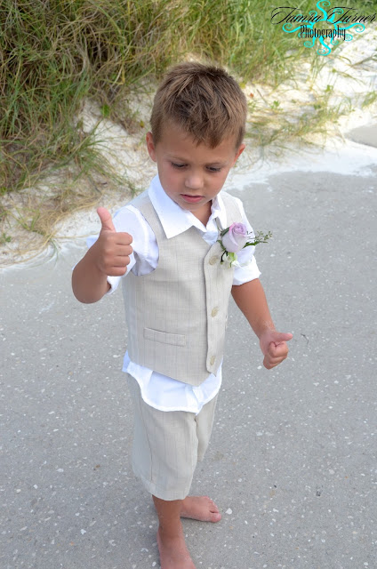 St. Andrew's State Park beach weddings