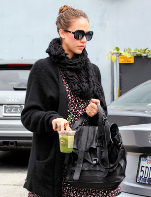 Jessica Alba Simple Hairstyles