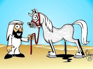 Unas Risas?;) ¿Habéis visto un caballo árabe alguna vez??...Pues FIJAOS BIEN en este...