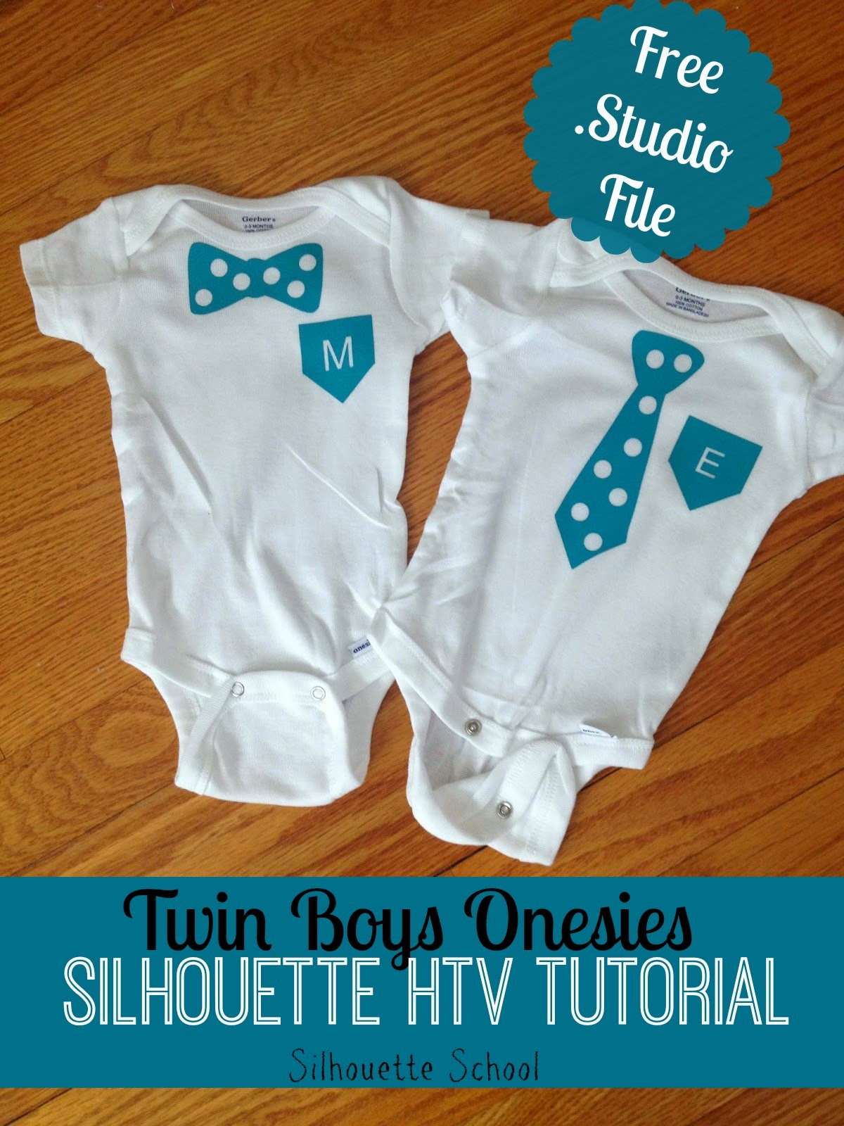 Baby Boy Onesies Using Heat Transfer Vinyl Free Studio