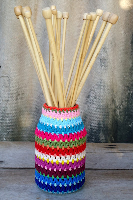 Crochet Jam Jar   AllFreeCrochet.com