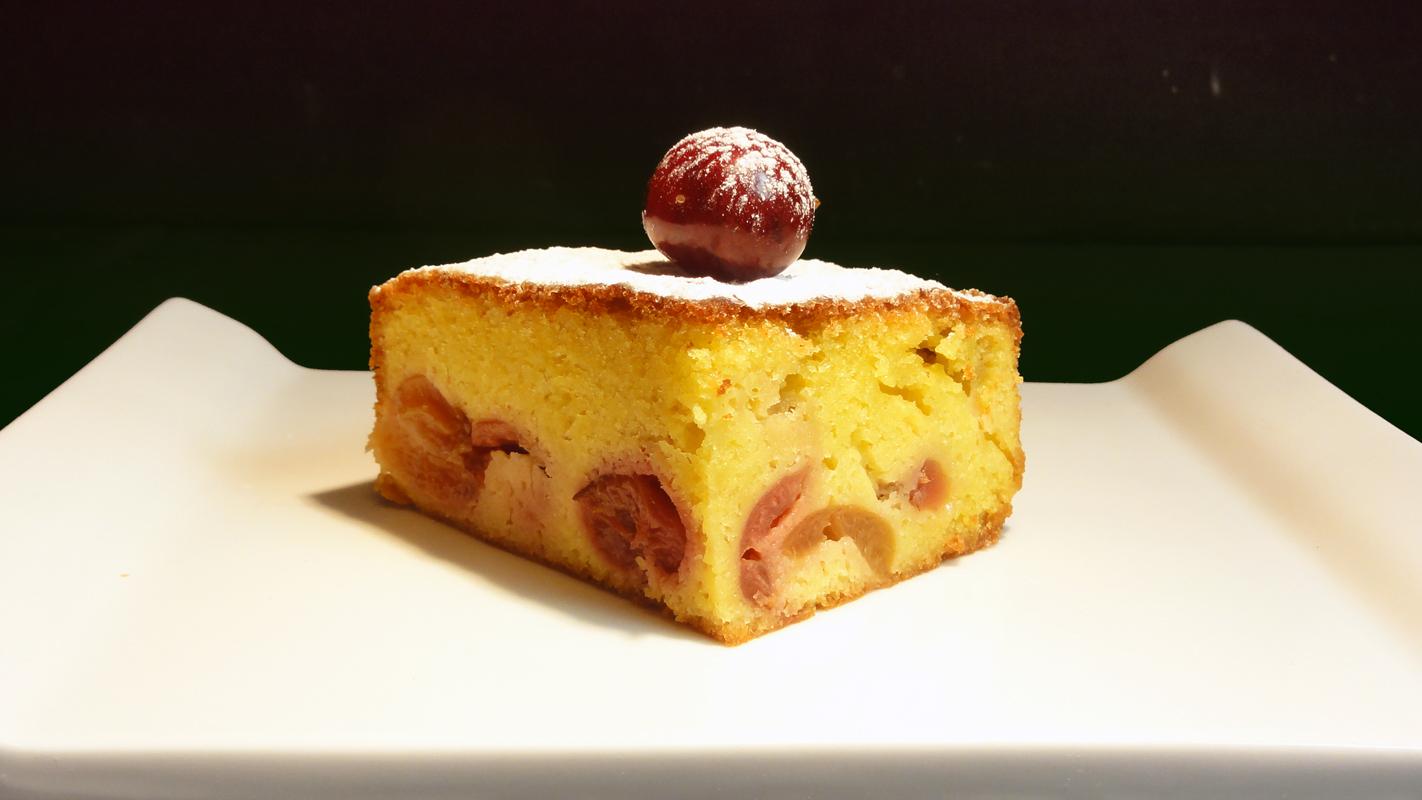 Cocinar para los amigos tarta de cerezas for Cocinar para los amigos