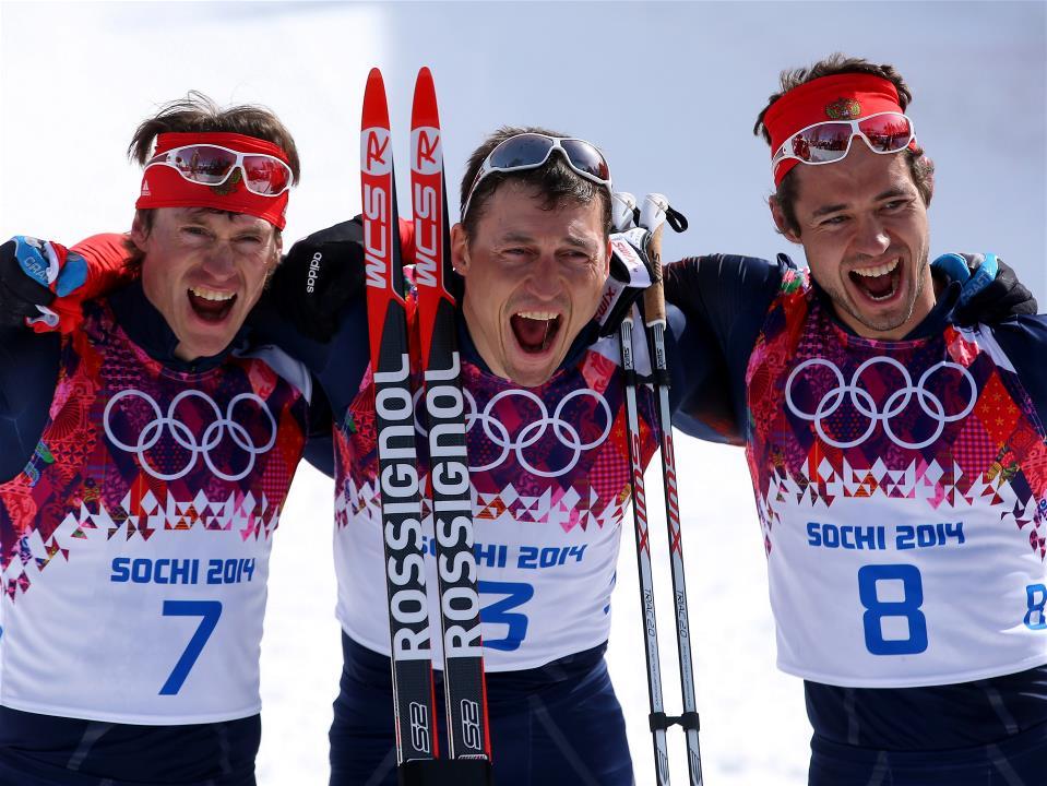 Сочи-2014. 17 день. Лыжные гонки масс-старт свободным стилем 50 км