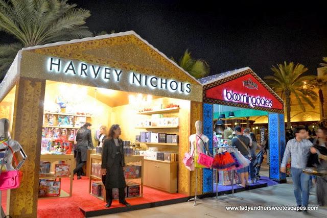 Festival booths at Souk Festive Market