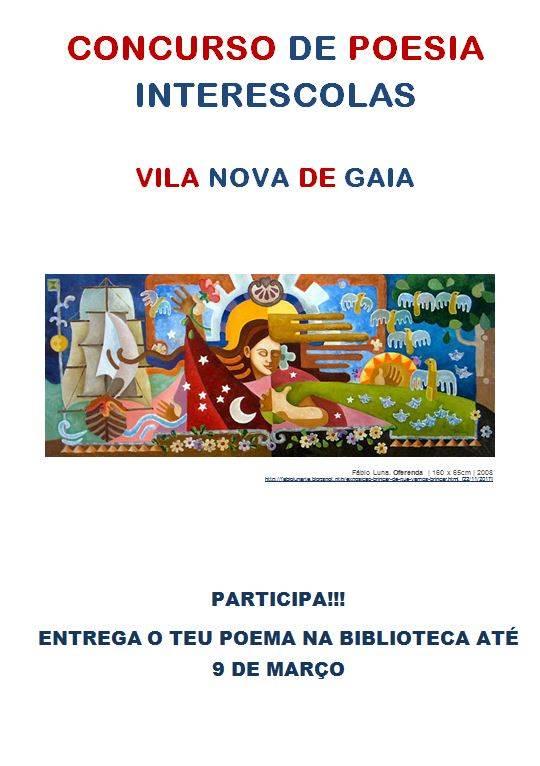 CONCURSO DE POESIA INTERESCOLAS DE VILA NOVA DE GAIA
