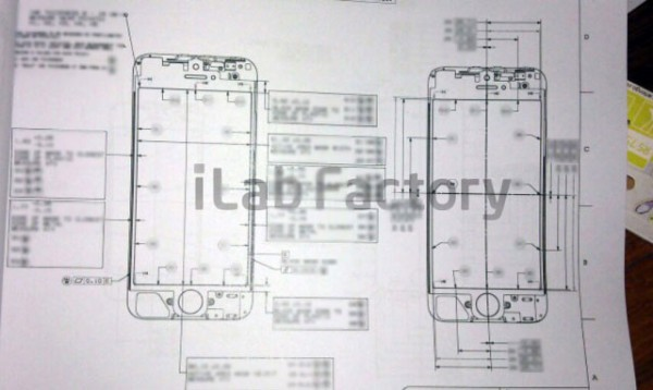 desenho esquemático do próximo iPhone