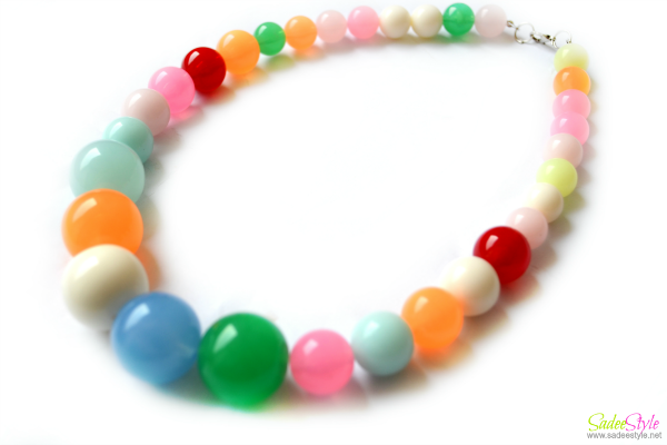 Fashion Candy Colors Necklace