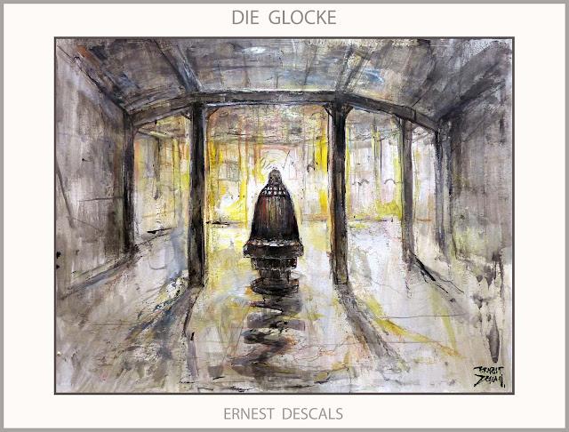 AHNENERBE-DIE GLOCKE-ARTE-PINTURA-PROYECTOS-OCULTISTAS-NAZIS-KAMMLER-CIENCIA-SEGUNDA GUERRA MUNDIAL-ARTISTA-PINTOR-ERNEST DESCALS-