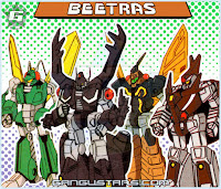 comics manga Beetras Transformers Deluxe Insecticons トランスフォーマー Takatoku
