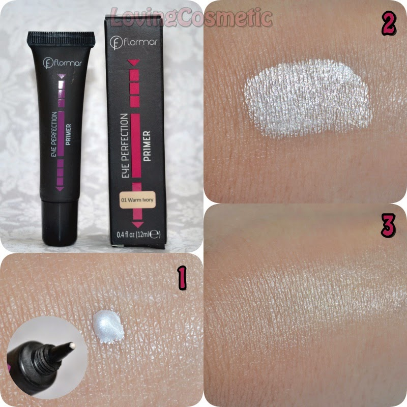 Flormar, maquillaje primavera 2015 eye perfection primer 01 warm ivory
