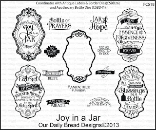 Stamps - Our Daily Bread Designs Joy in a Jar