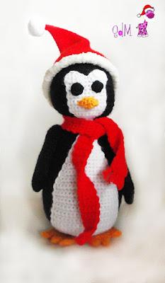 pingüino navidad