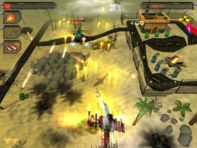 لعبة حرب الطائرات الهليكوبتر صقر الصحراء Desert Hawk
