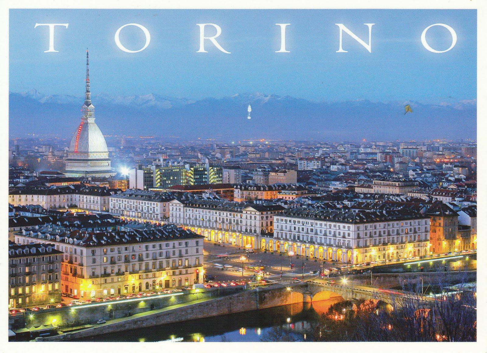 Trino Italy  City pictures : johan postcards: Italy / Italia Torino.