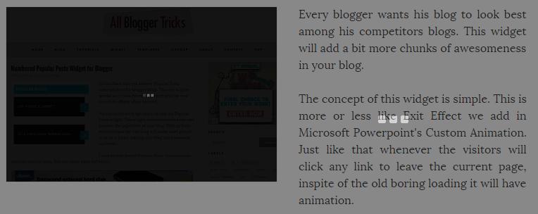 [Tips] - Hiệu ứng tải trang mờ có ảnh cho Blogspot Blogger V2