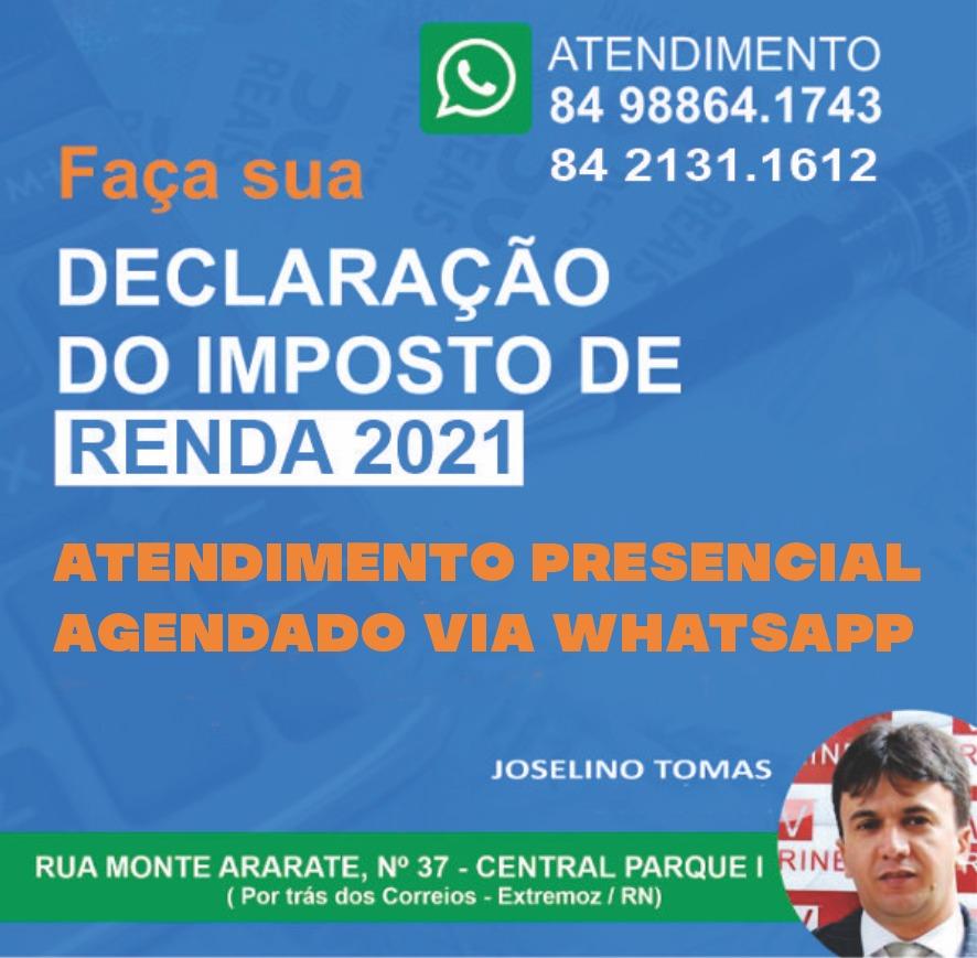 DECLARAÇÃO DO IMPOSTO DE RENDA
