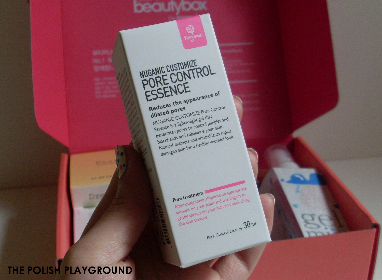 Memebox Luckybox #1 Unboxing and First Impressions - Nuganic Customize Pore Control Essence