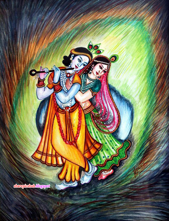 Pictures Of Beautiful Paintings Of Radha Krishna Rock Cafe