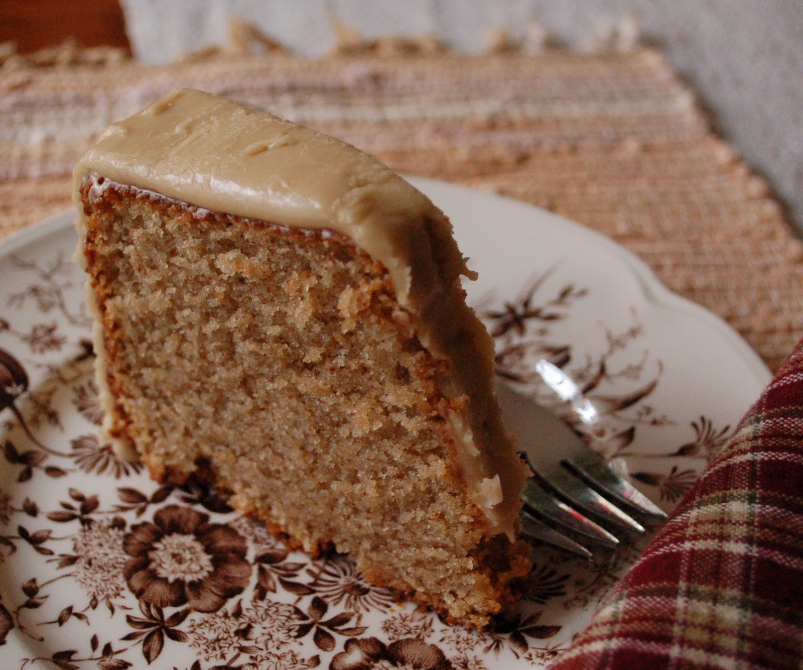 spice cake faulknerian family spice cake maple spice cake with caramel ...