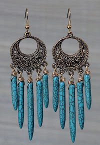 Turqouise Earrings $25
