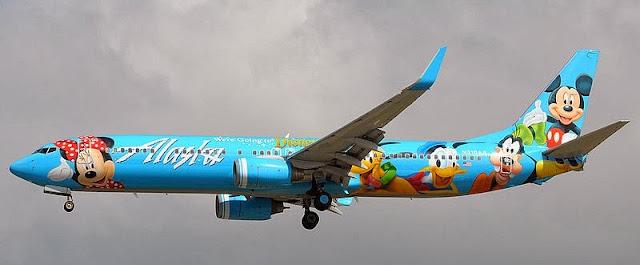 Avião da Disney - Aviões temáticos para fãs