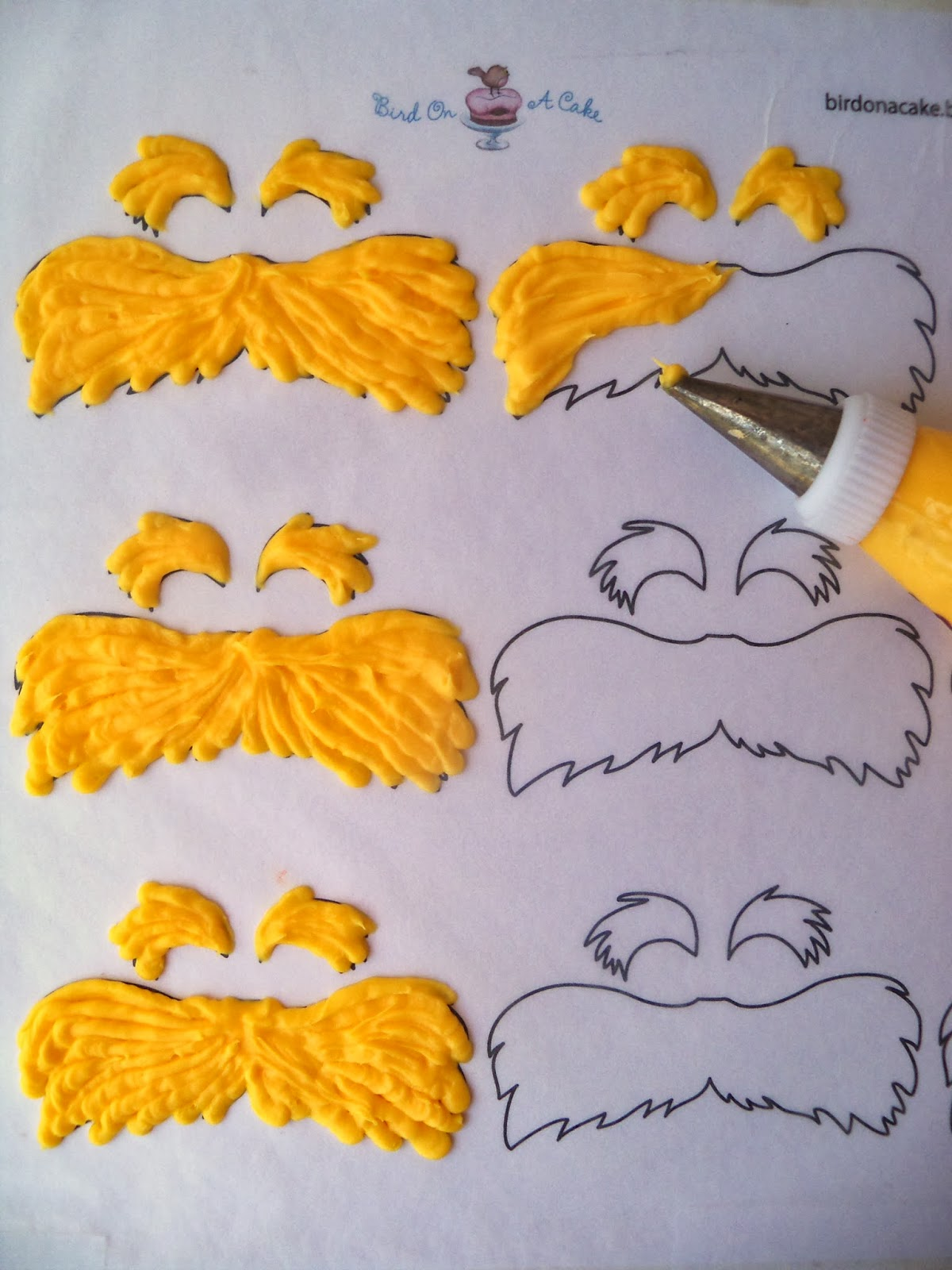 Lorax mustache