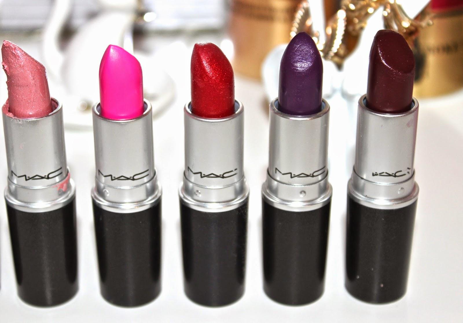 My MAC Lipstick Collection! | VavaViolet