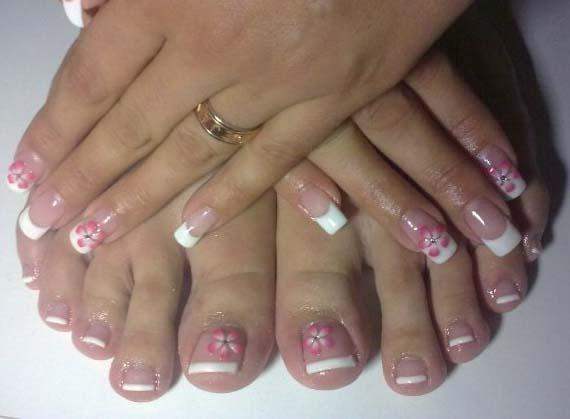 Los mejores manicure pedicure decoracion para tu pedicure - Decoracion de pies ...