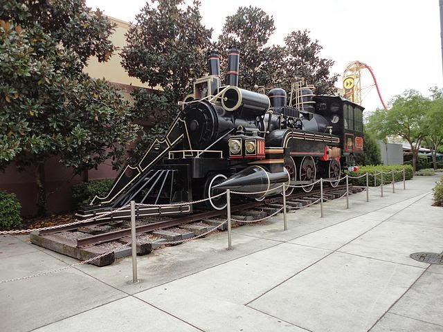 Back to The Future part III Train