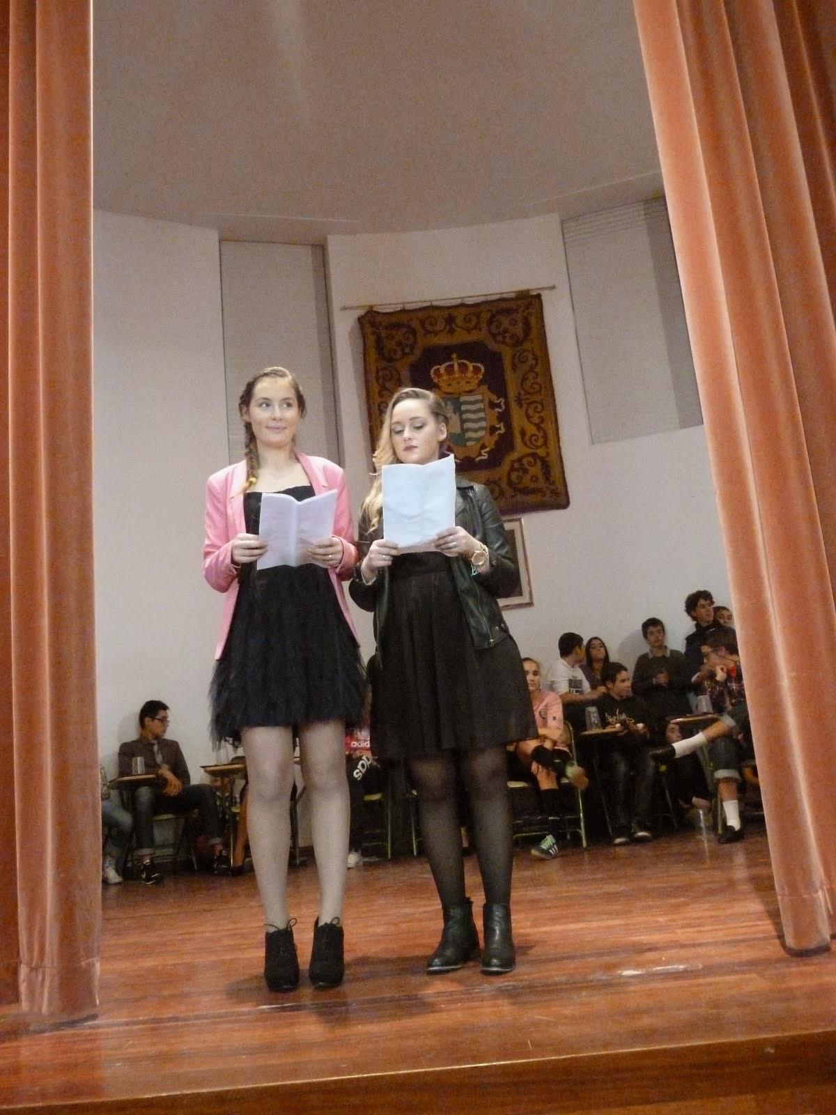 Adriana e María.