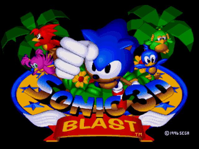 Sonic 3D Blast PC Game