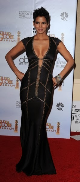 Halle Berry-2010 Globe Awards, front view
