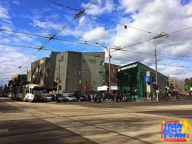 Federation Square in Melbourne, Australia